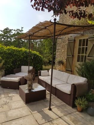 Lounge area on terrace