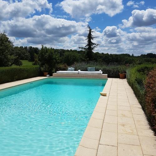 Swimmingpool, La Maison Louverie