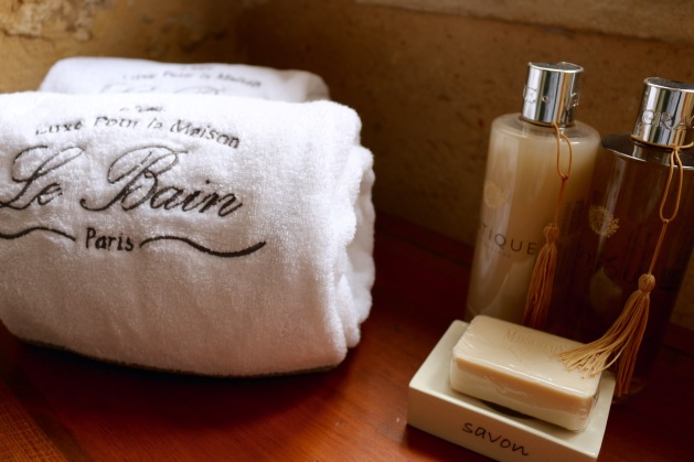 Soft towels & Luxery in bathroom