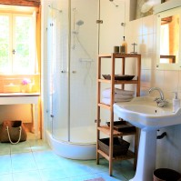 Chambre Truffe, bathroom
