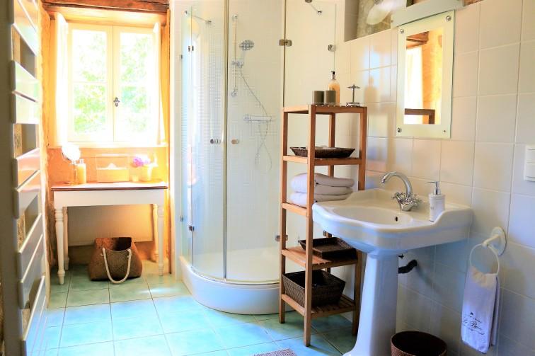 Chambre Truffe, bathroom